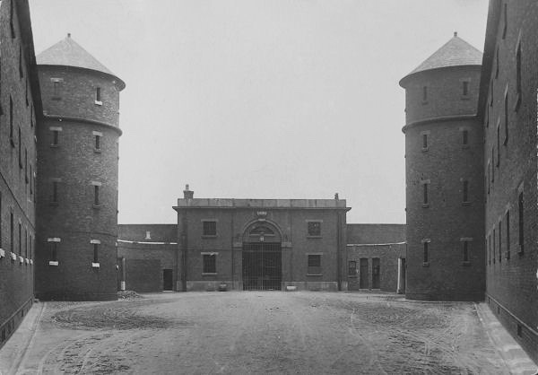 which surrounded the prison