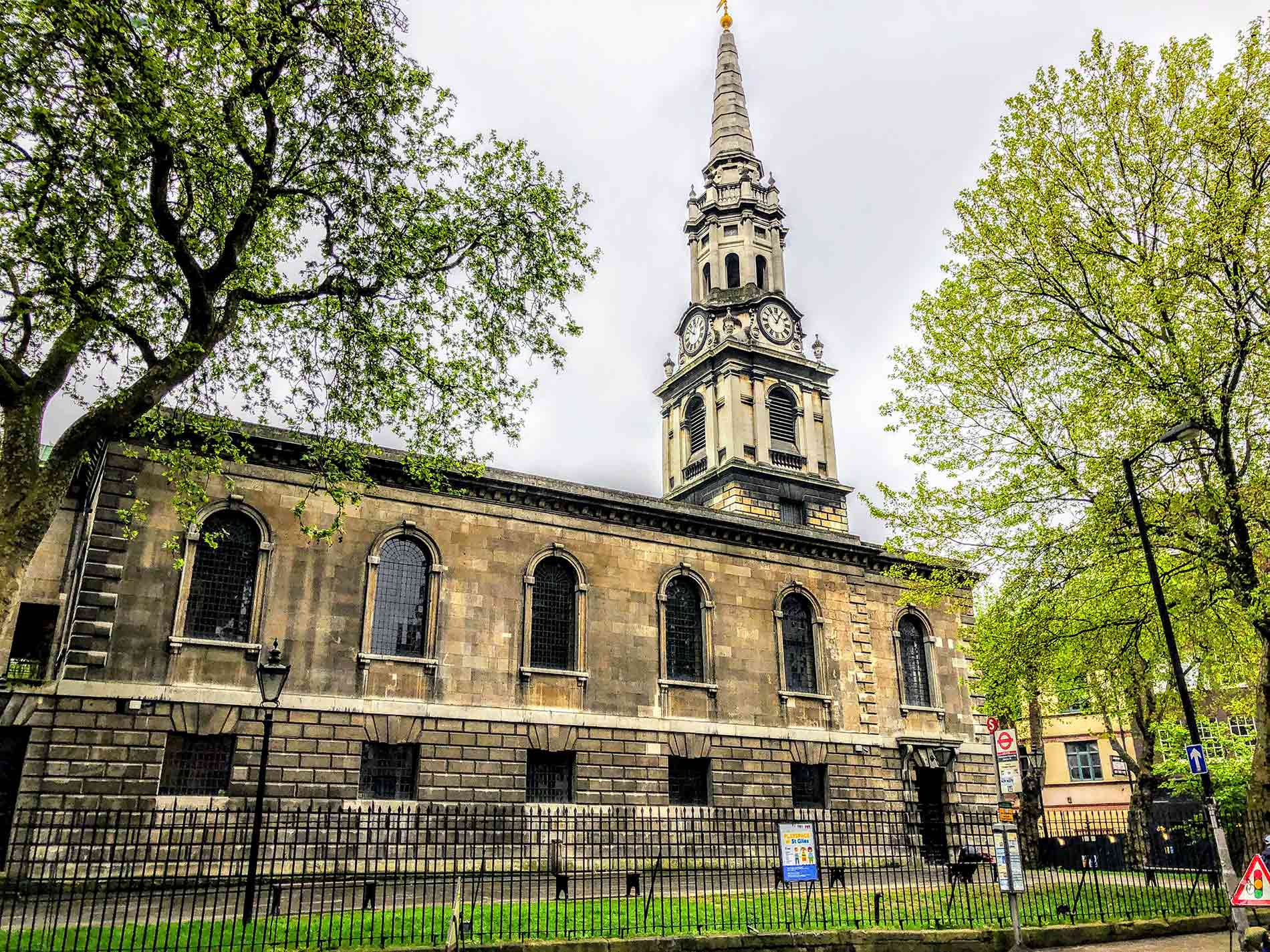 St Giles in the Fields